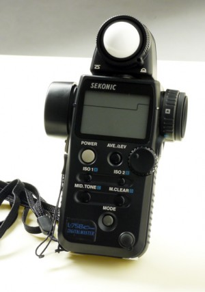 Sekonic Light Meter: L-758DR-U DigitalMaster Exposure Meter - Features